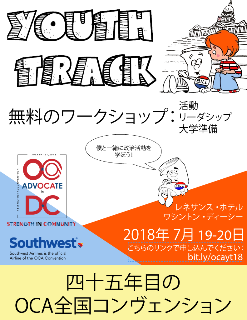 youth track japanese flyer